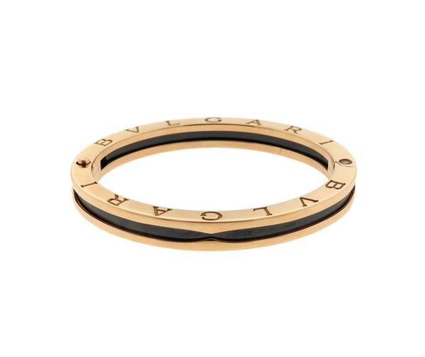 Bvlgari Bulgari B.Zero1 18k Gold Bangle Bracelet