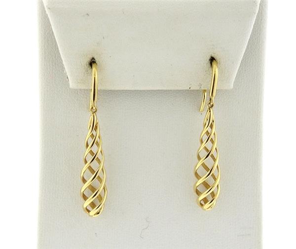 Tiffany & Co Picasso Venezia Luce 18k Gold Earrings