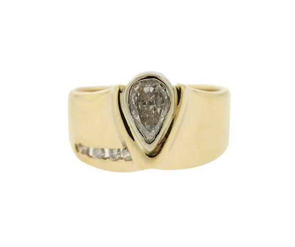 14K Gold Diamond Ring