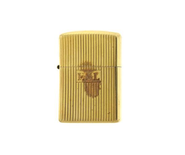 Vintage Zippo 14K Gold Lighter
