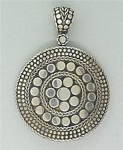 John Hardy Dots Sterling Pendant