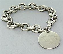 Tiffany & Co Sterling Return To Tiffany Bracelet