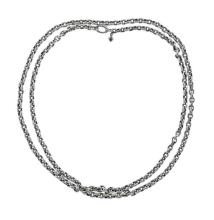 David Yurman Silver Chain Necklace