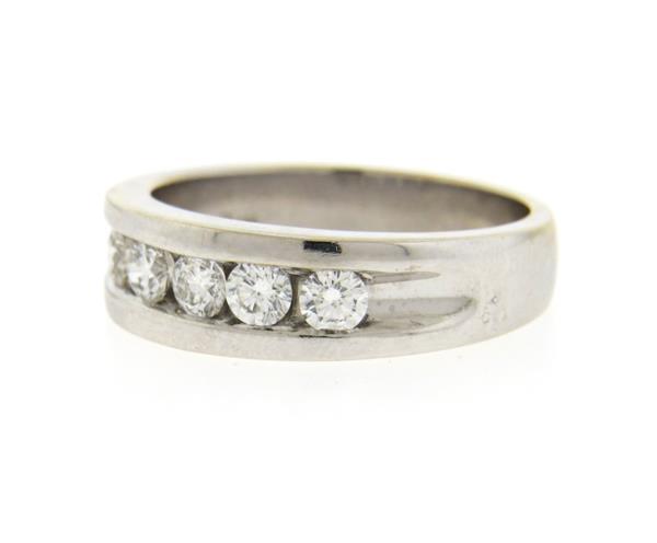 Shane 14k Gold Diamond Mens Wedding Band Ring