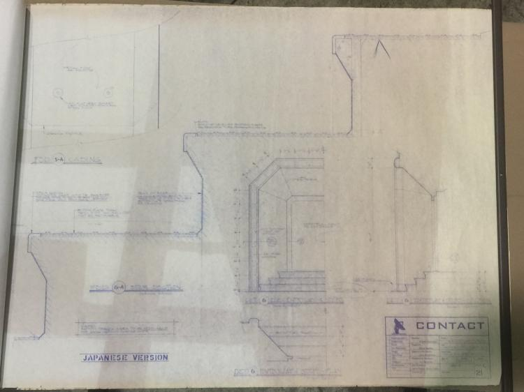 Contact 1997 Blueprint Collection 15 Pages