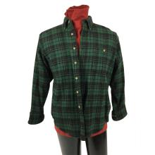 Switchback (1997) - Jared Leto Green Flannel Shirt and Red Turtleneck
