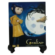 Coraline (2009) - Coraline's Screen Used Puppet Hand with Painted Nails.