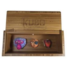 Kubo and the Two Strings (2016) - Collection of 3 Screen Used Puppet Heads