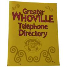 How the Grinch Stole Christmas (2000) - Whoville Telephone Cover