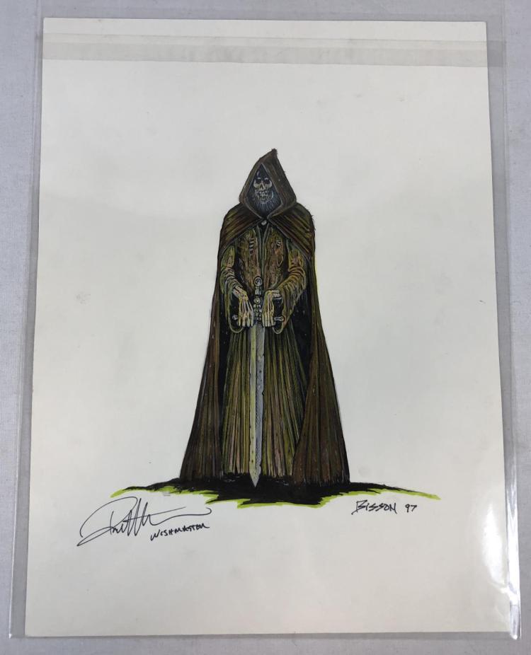 Wishmaster (1997) - Djinn Color Concept Artwork