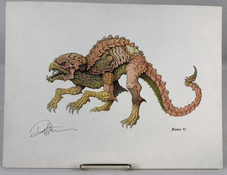 Wishmaster (1997) - Djinn Dog Color Concept Art