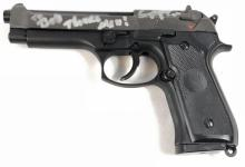 Lot 8: Deadly Impact (2010) - Prop Gun signed by Sean Patrick Flanery