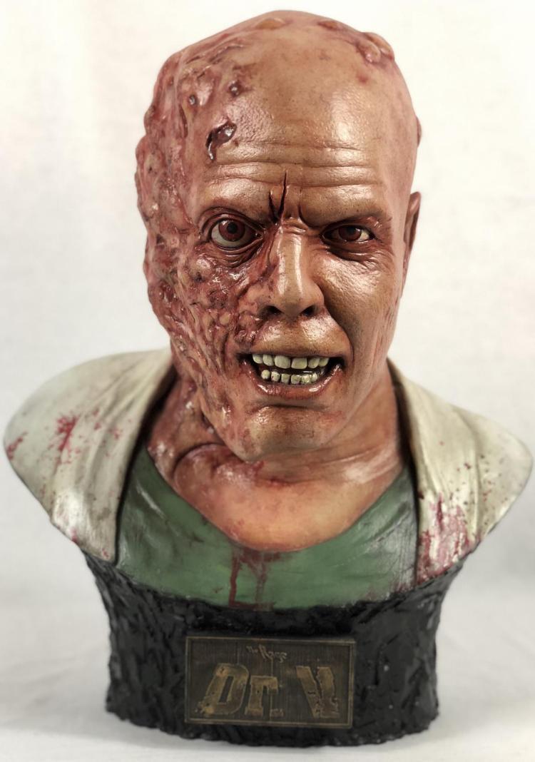 The Rage (2007) - Dr. V Mutation Head