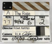 Lot 30: The Rage (2007) - Original Production Used Director's Slate