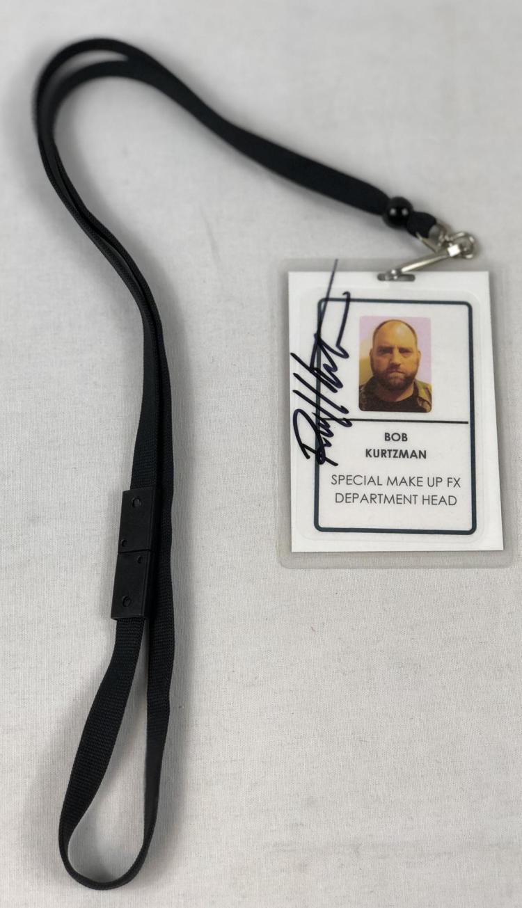 Lot 44: Hostel: Part III (2011) Robert Kurtzman Signed Crew Pass