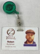 "Lot 46: ""Oz the Great and Powerful"" (2013) Robert Kurtzman Signed Crew Pass"