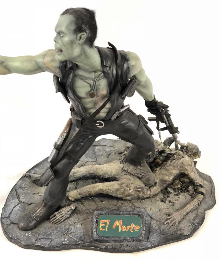 """Lot 64: """"Asskickers of the Damned"""" - El Morte Zombie Concept Pitch Model"""