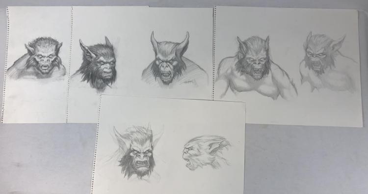 Joseph Hahn (Linkin Park) Creature Designs Original Concept Art Collection