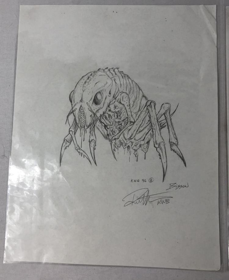 Bug Creature Original Concept Art by KNB FX - Lot B