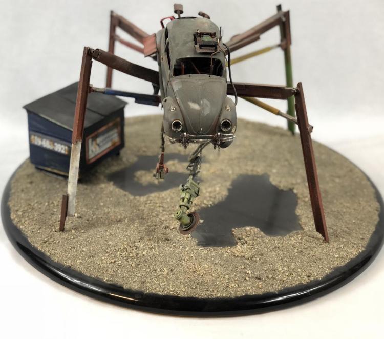"""Junk"" - Wes Craven - Spider Bug Car Concept Pitch Model"