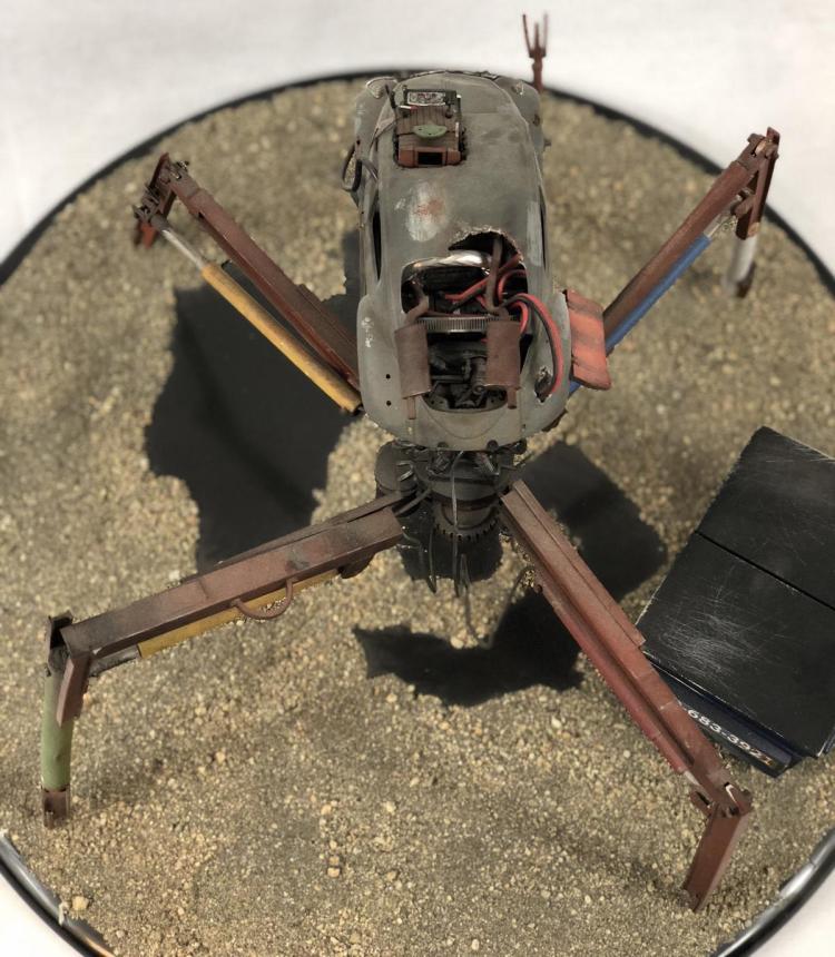 "Lot 75: ""Junk"" - Wes Craven - Spider Bug Car Concept Pitch Model"