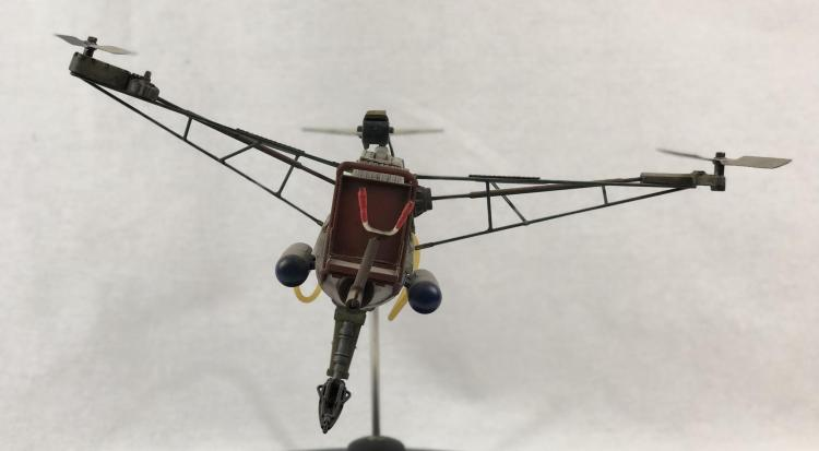 "Lot 76: ""Junk"" - Wes Craven - Prop Lawnmower Blade Helicopter Model"
