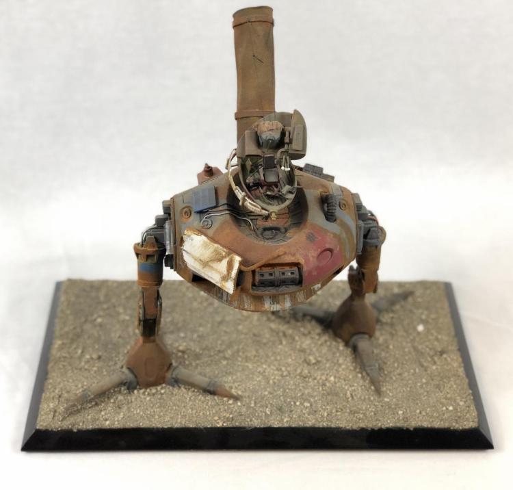 """Junk"" - Wes Craven - 2-Legged Bot Concept Pitch Model"
