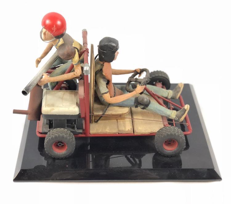"""""""Junk"""" - Wes Craven - Prop Go-Kart with Children Model"""