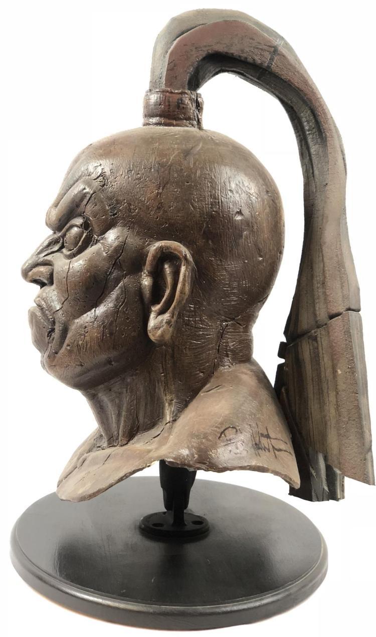 Lot 81: Wishmaster (1997) - Djinn Warrior Fiberglass Head #3