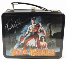 Lot 85: Army of Darkness (1992) - Robert Kurtzman Signed Lunch Box & Thermos