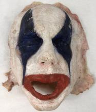 Lot 88: The Funhouse Massacre (2015 Starring Robert Englund) - Silicone Skin Clown Mask