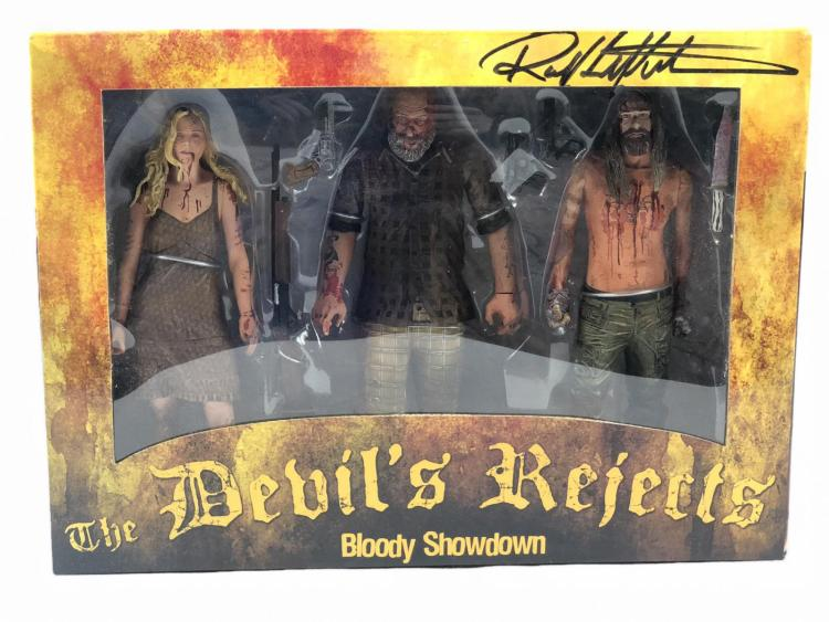 Lot 89: The Devil's Rejects (2005) - Robert Kurtzman Signed Action Figure Set