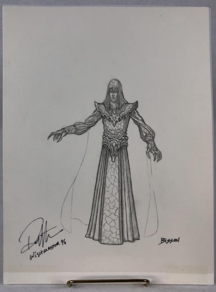 Wishmaster (1997) - Djinn Concept Artwork