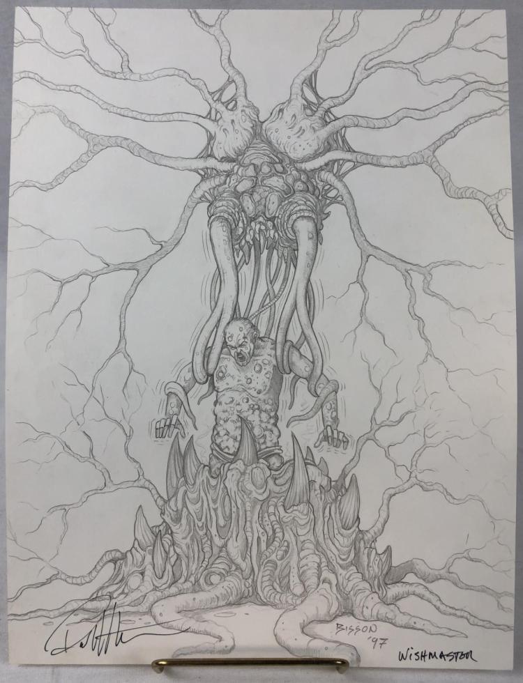 Wishmaster (1997) - Creature Attack Concept Artwork