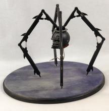 """Lot 128: """"Safecracker"""" Robot Maquette and Hand Drawn Artwork"""