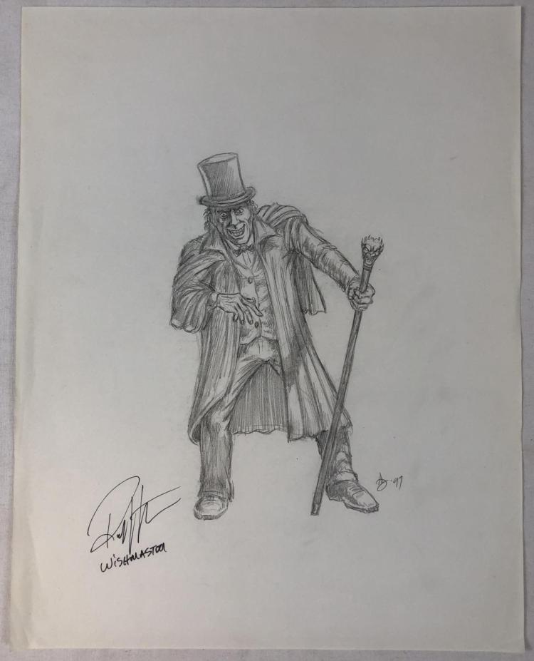 Wishmaster (1997) - Jack the Ripper Original Concept Artwork