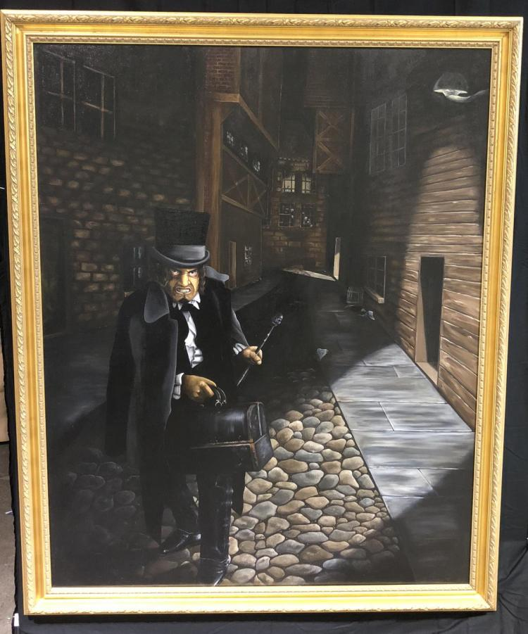 Wishmaster (1997) - Jack the Ripper Framed Painting from Robert Englund's Mansion