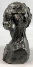 """Lot 161: From Dusk Till Dawn (1996) - """"Mouth Bitch"""" Vampire Bust Concept Sculpture"""