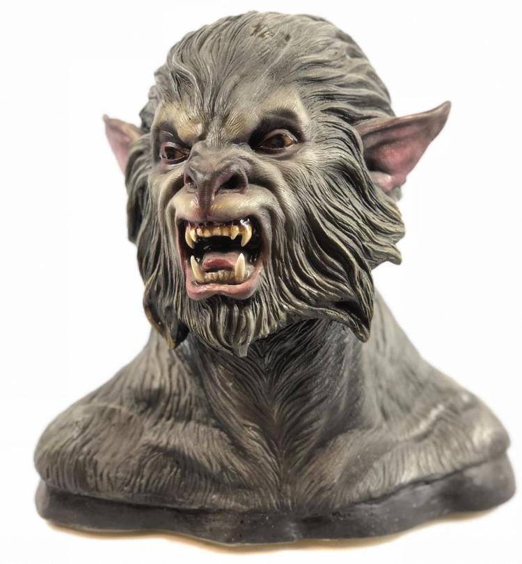 """""""A Forest Dark"""" - Werewolf Concept Bust"""