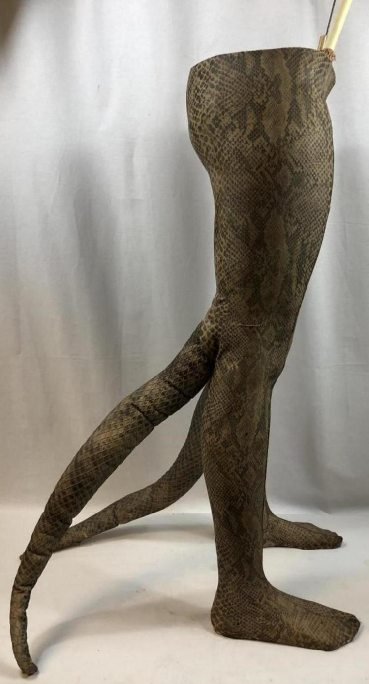 Lot 178: Hisss (2010) - Woman To Snake Woman Transformation Legs