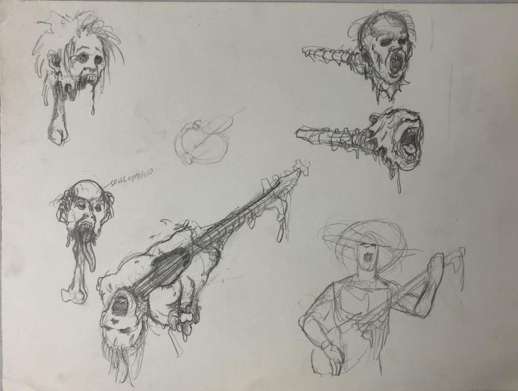 From Dusk Till Dawn (1996) - Vampire Band Concept Artwork