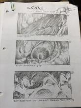 Lot 197: Hisss (2010) - Collection of 23 Storyboards from Transformation Scene