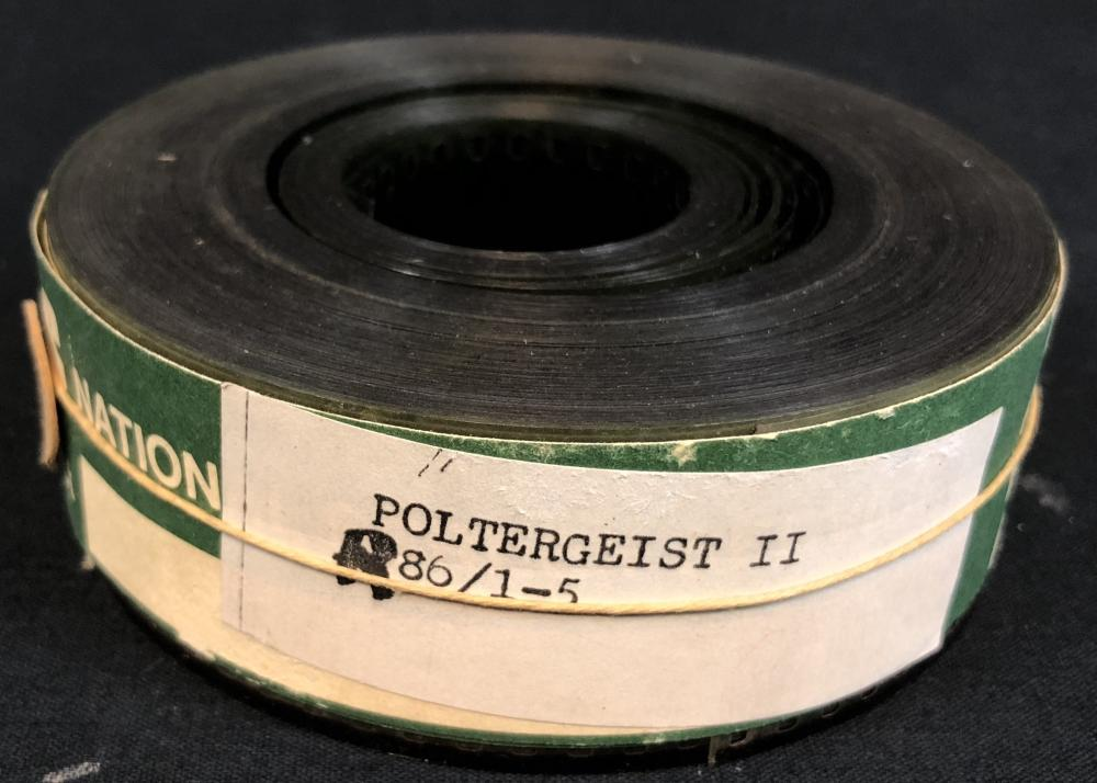 Lot 1: Poltergeist II: The Other Side (1986) - 35mm Theatrical Trailer