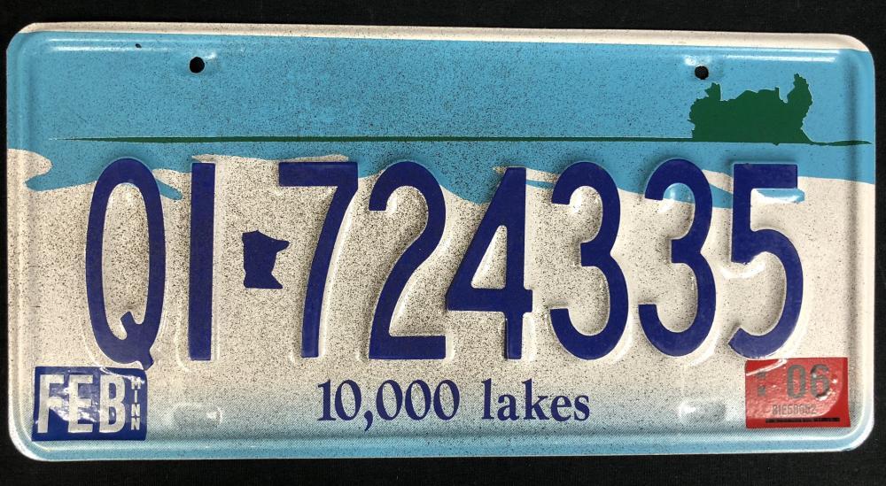 Fargo (2014– ) - Season 1 License Plate - Lot A