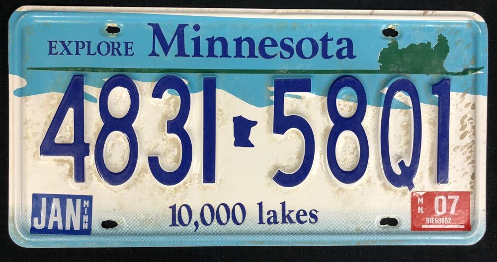 Lot 19: Fargo (2014– ) - Billy Bob Thornton License Plate