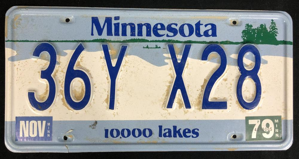 Lot 20: Fargo (2014– ) - Season 1 License Plate - Lot B