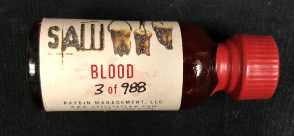 Saw III (2006) - Jigsaw Blood Vial