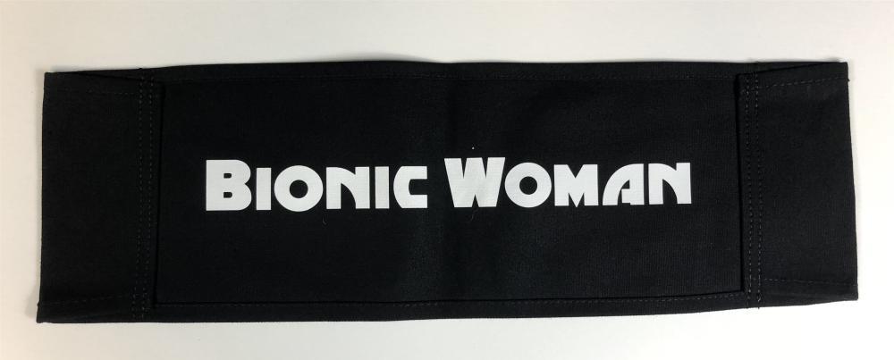 Lot 32: Bionic Woman (2007) - Katee Sackhoff Original Chairback