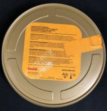 Lot 35: Wrath of the Titans (2012) - Film Reel Can With Label