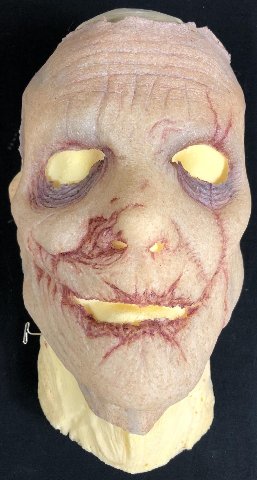 Lot 48: The ByeBye Man (2017) - Doug Jones Screen Used Silicone Mask & Life Cast Bust